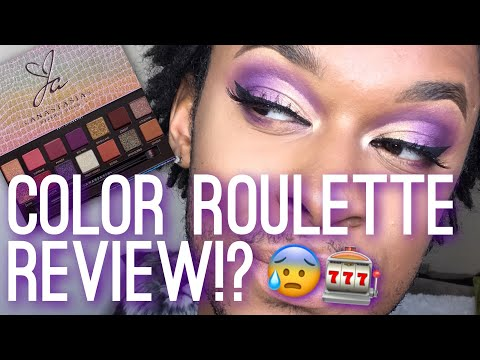 JACKIE AINA Palette Challenge! | Color Roulette Game thumbnail