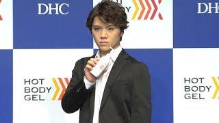 宇野昌磨、初CM撮影は「恥ずかしかった」