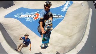 GoPro HD: Skateboard Park Course Preview with Andy Mac and Bucky Lasek – Summer X Games 2012