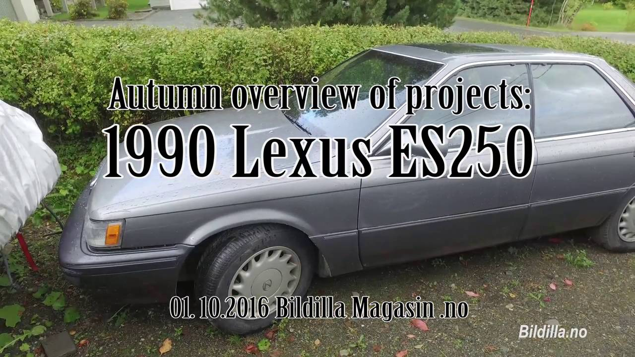 Autumn overview of projects es250