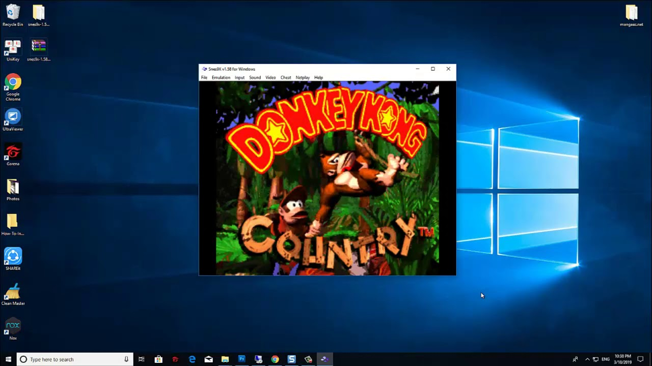 How To Play Snes Games on PC (Windows 10/8/7) with Snes9x Emulator