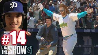 PLAYING LIL KERSH!   MLB The Show 21   Diamond Dynasty #14