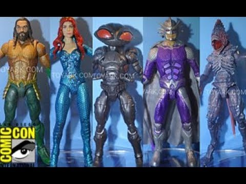 SDCC2018 Reveals/Thoughts: Mattel Multiverse Aquaman Movie Figures (Black Manta, Mera, Trench C&C)