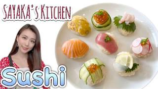 SAYAKA's Kitchen: How to make Sushi!!