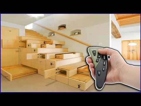 Remote Control Smart Furniture Compilation | Great Space Saving Ideas - Smart Furniture 2018