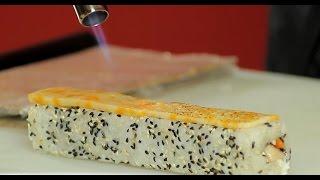Как готовить роллы. Суши Шоп, Сушишоп, Sushishop / How to make delicious and tasty sushi(Приготовление: ролл Чикен & Чиз., 2014-09-16T11:17:20.000Z)