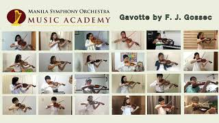 MSO Music Academy Suzuki Violin Repertoire Class Video Project 1: Gossec's Gavotte