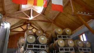 Amador County Winery tour & brushfire July 2014