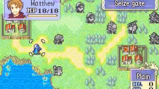 Fire Emblem - Fire Emblem (GBA / Game Boy Advance) - chapter 14 and 15 - User video