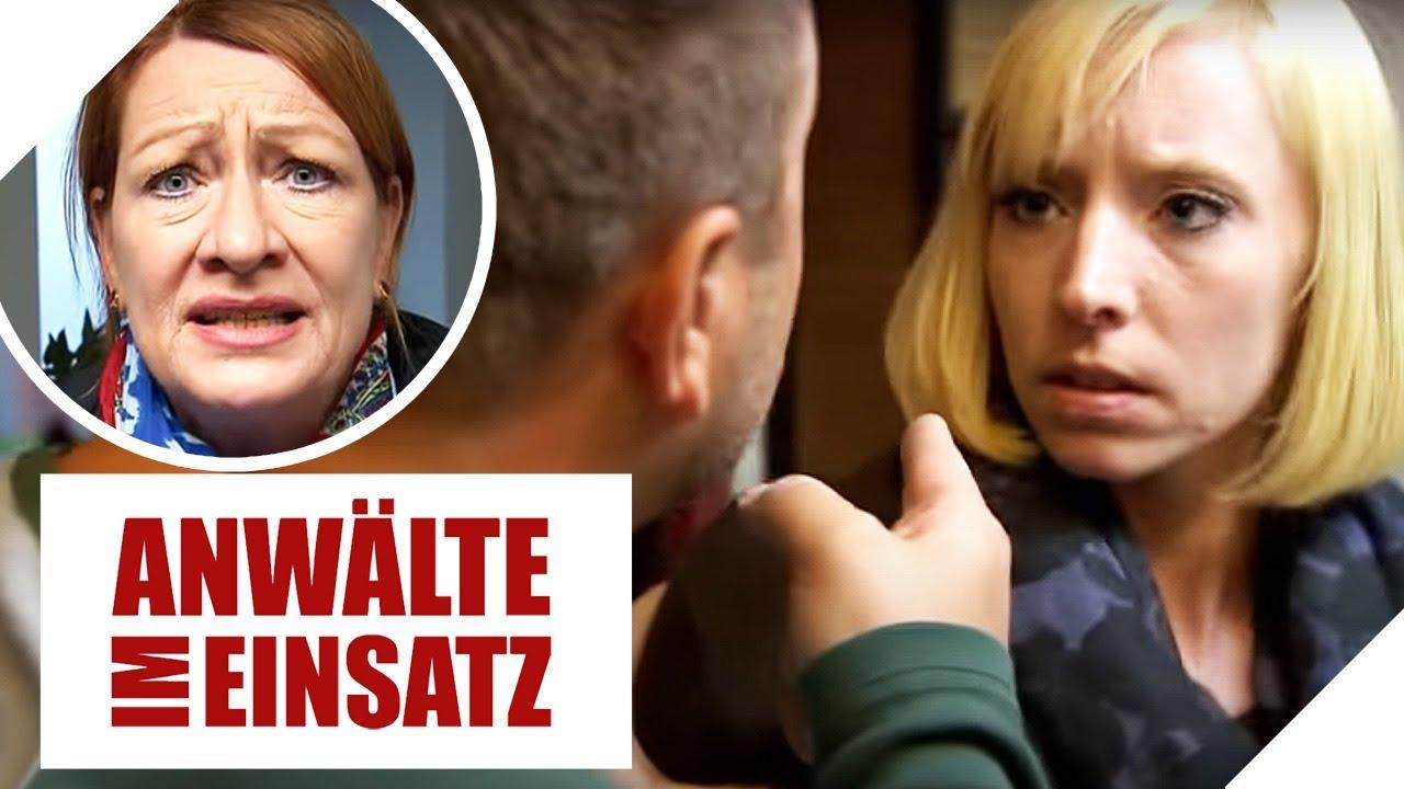 🤜 Mein Mann, der Schläger: Birgit sucht Hilfe bei Ulrike Tasic  1/2  Anwälte im Einsatz SAT.1