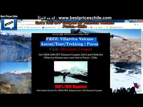 Volcan Villarrica : Hike - Ascent - Tour - Trekking | Villarrica Volcano Pucon - Chile