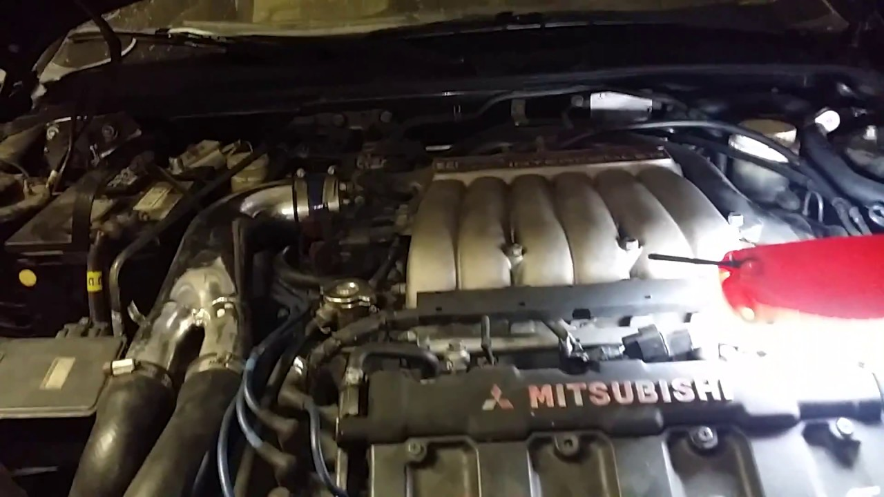 medium resolution of mitsubishi 3000gt vr4 3 0 v6 front oxygen sensor replacement