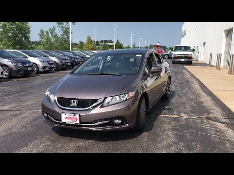 2015 Honda Civic Elgin, Schaumburg, Barlett, Barrington, Hoffman Estate, IL PE1643