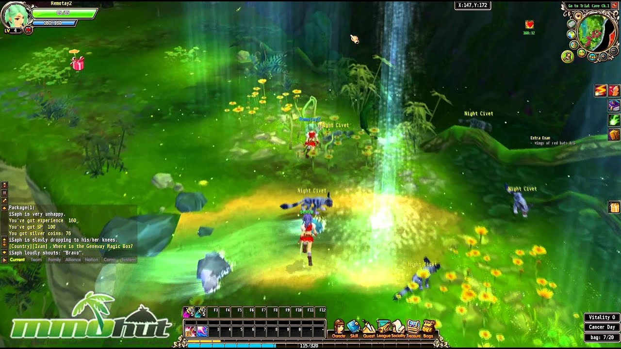 Luvinia Online Gameplay - First Look HD - YouTube