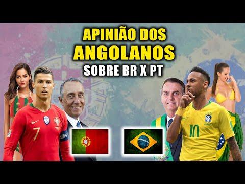 O QUE AFRICANOS ACHAM DO BRASIL X PORTUGAL #1