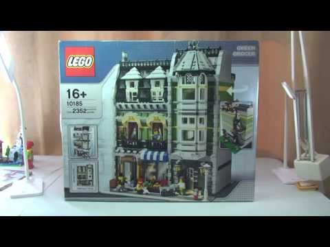 LEGO Modular Green Grocer set 10185 Review