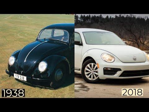 Volkswagen Beetle Through The Years