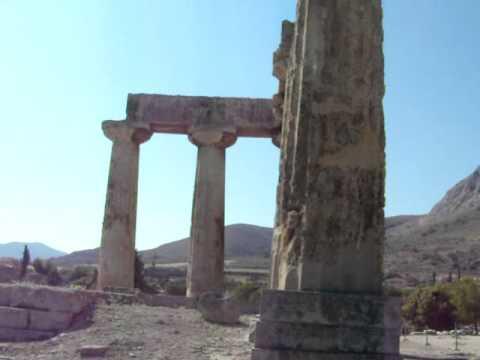Temple of Apollo Corinth (Korinthos), Greece