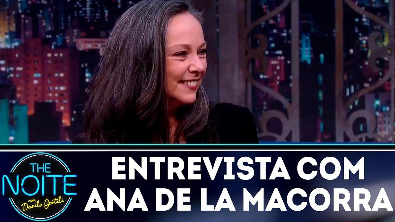 Entrevista com Ana de la Macorra, a Paty do Chaves | The Noite (18/07/18)
