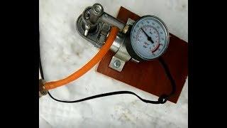 homemade small 12v 8BAR! high presure pump! very powerful!!!!