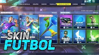'FUTBOL SKINS' NEW GIFT STORE 9 FORTNITE DE Abril