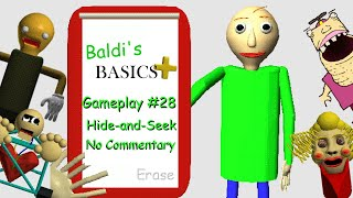 Baldi's Basics Plus V0.2.1 (Gameplay No Commentary)