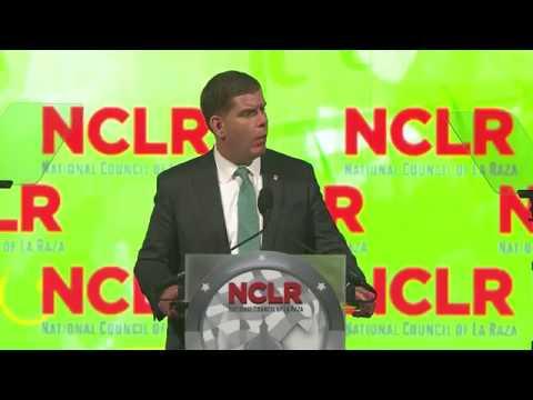 2017 NCLR Capital Awards Honorees Mayor Eric Garcetti and Mayor Martin J. Walsh