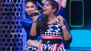 Super Star Junior 5  Sreelakshmi Singing Mana Mana Mental Manadhil