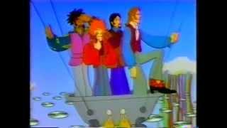 ''Yellow Submarine'' karikatür tarzı Best Buy reklam