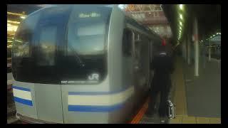 【JR内房線】 E217系Y-20編成+Y-104編成 快速 君津行き 千葉発着