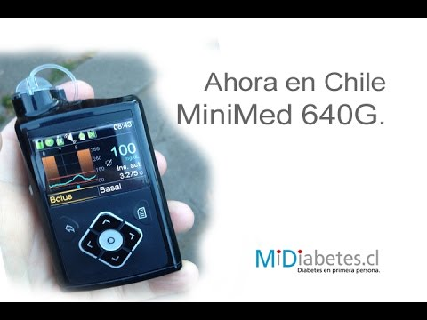 Nueva bomba de insulina MiniMed 640G en Chile. - YouTube