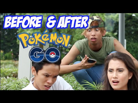 Before And After: Pokemon Go