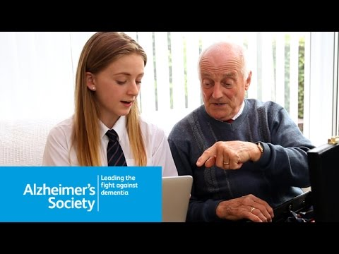 Jennifer and Trevor's story - My grandad has dementia - Alzheimer's Society