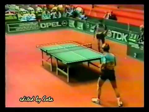 1989 WC, Dortmund - GERMANY (Wosik + Bohm) vs JAPAN (Matsushita + Shibutani)