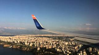 Flug von Hannover nach Antalya 737-8 SunExpress