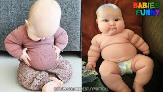 Cutest Chubby Babies Ever Compilation 2019