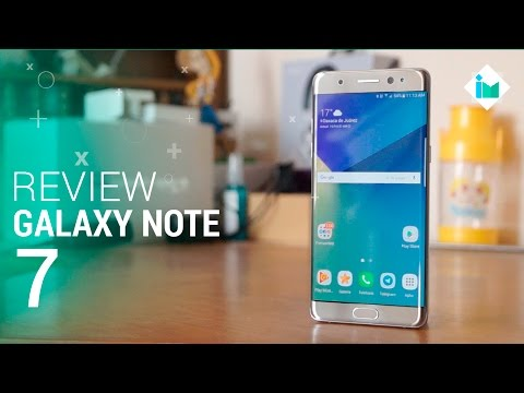 Samsung Galaxy Note 7 - Review en español