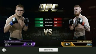 EA SPORT ufc khabib vs mcgregor gameplay