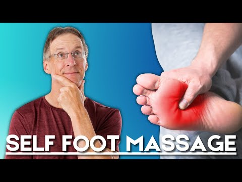 Self Foot Massage- Do While Watching