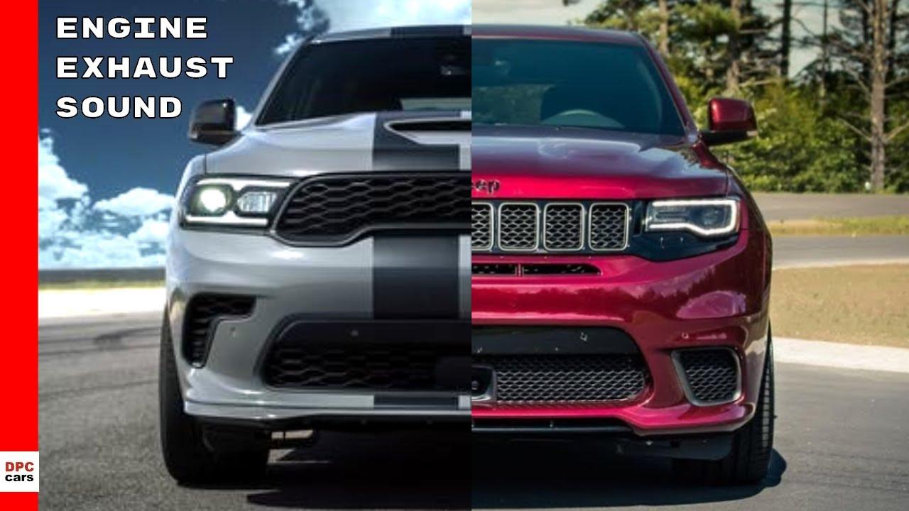 2021 dodge durango srt hellcat vs jeep grand cherokee