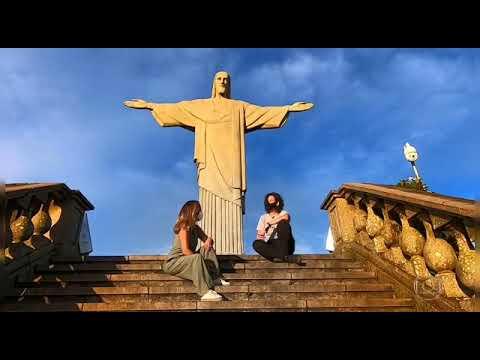 Estátua do Cristo Redentor no Rio de Janeiro
