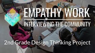 Design Thinking Empathy Work - Interviewing the Community