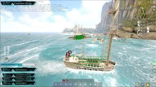 Atlas PVP | TPG | Sinking Hostiles pre made Brig | Atlas Gameplay | Atlas Battles