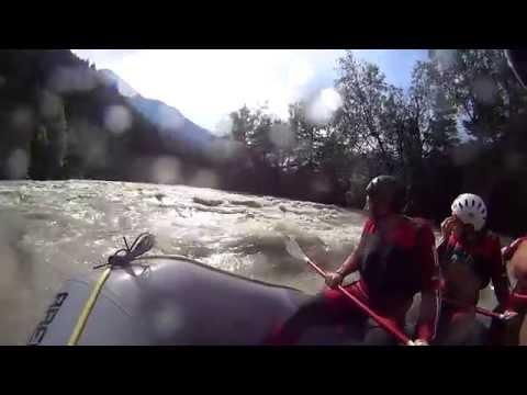 White Water Rafting Tirol, Austria (1of2)
