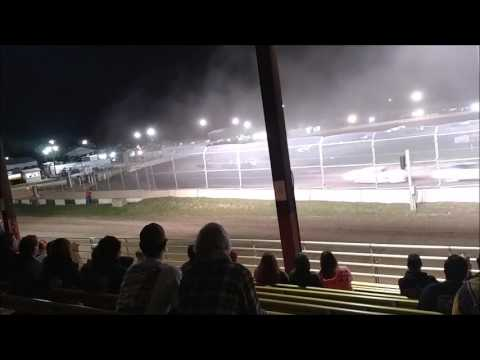 Plymouth Dirt Track Grand National Feature mp4 6 24 2017