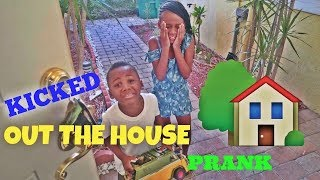 Kicked Out The House Prank On Kids (BACKFIRED)