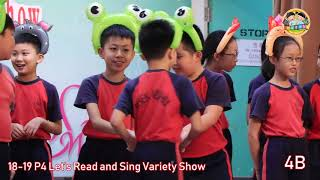 swhps的18-19 P4 Let's Read and Sing Variety Show相片
