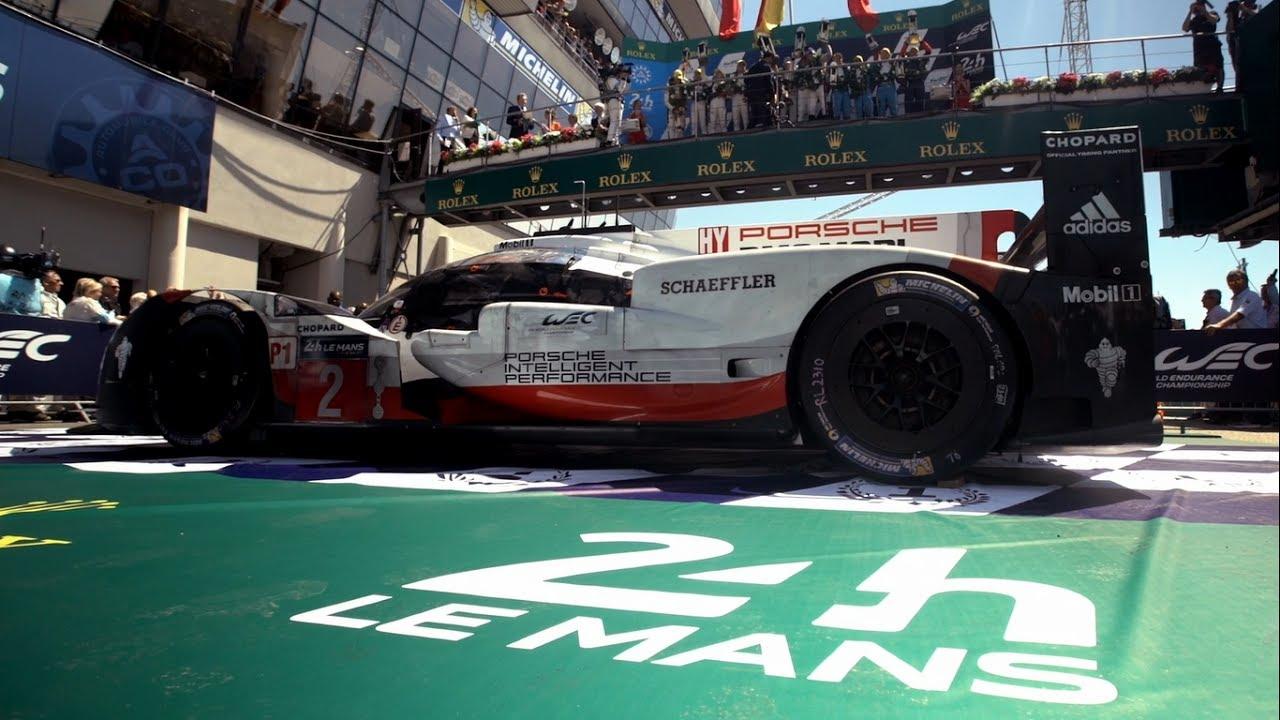 Porsche At Le Mans 2017