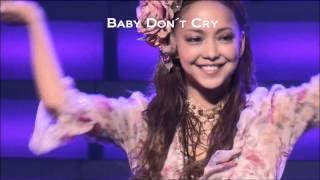 Gambar cover Baby Don´t Cry-Namie Amuro(安室奈美恵)
