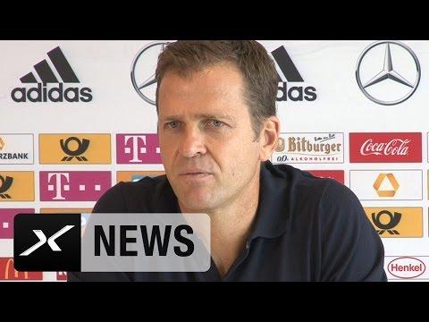 So kontert Oliver Bierhoff auf die Karl-Heinz-Rummenigge-Kritik | DFB-Team